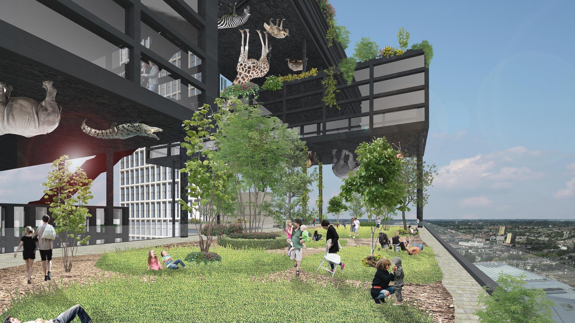 'Licht Verdicht' research, Weenapoint Rotterdam
