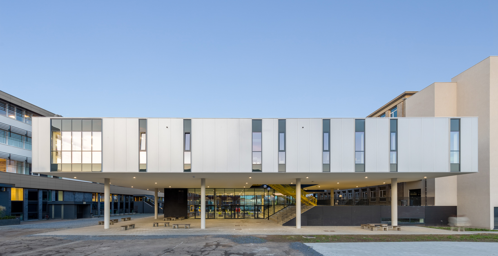 Science building- St-Jozef Instituut, Geel