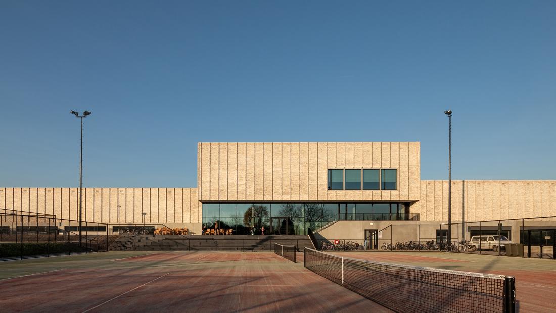 MFC Doelum, designed by NOAHH and Studio Nuy van Noort