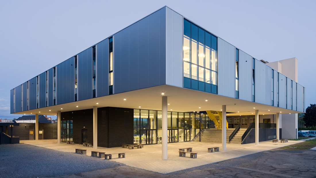 Sint Jozefinstituut, designed by NOAHH | Network Oriented Architecture