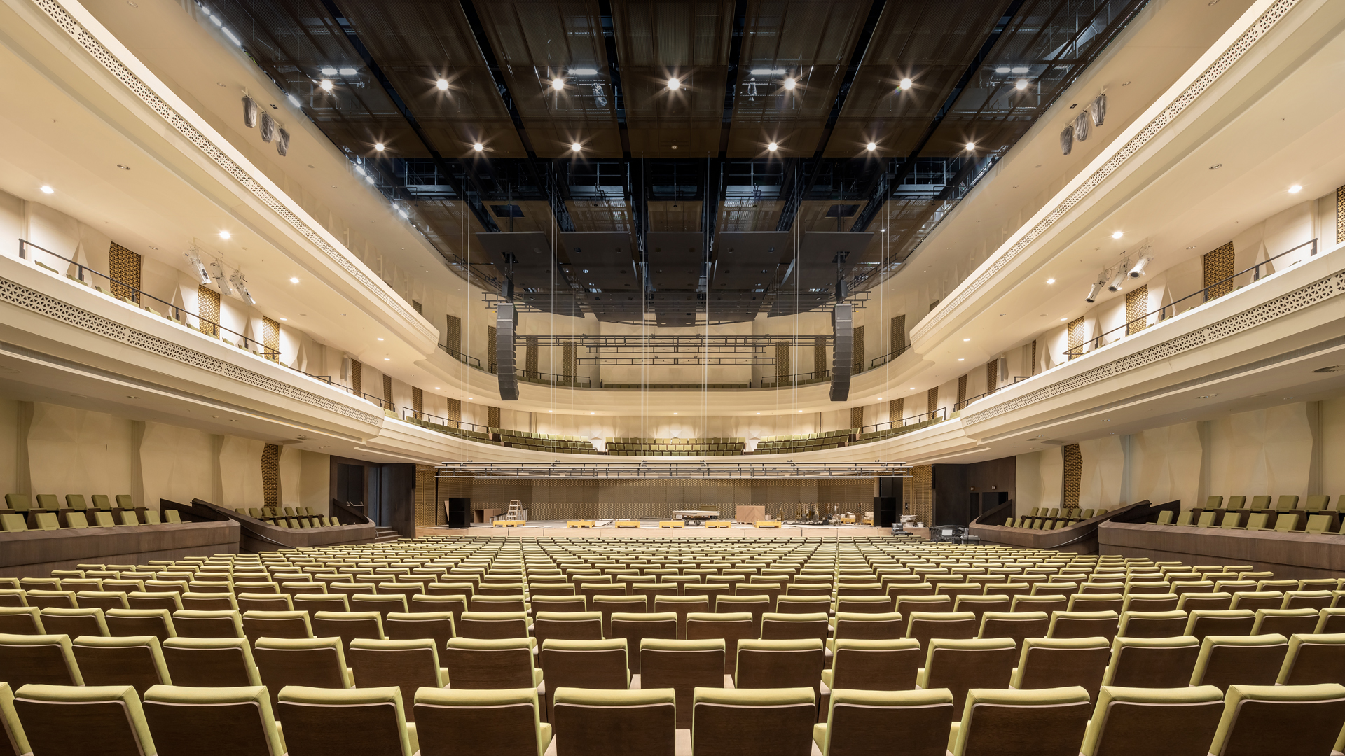 The new performing arts centre Amare, designed by NOAHH and JCAU