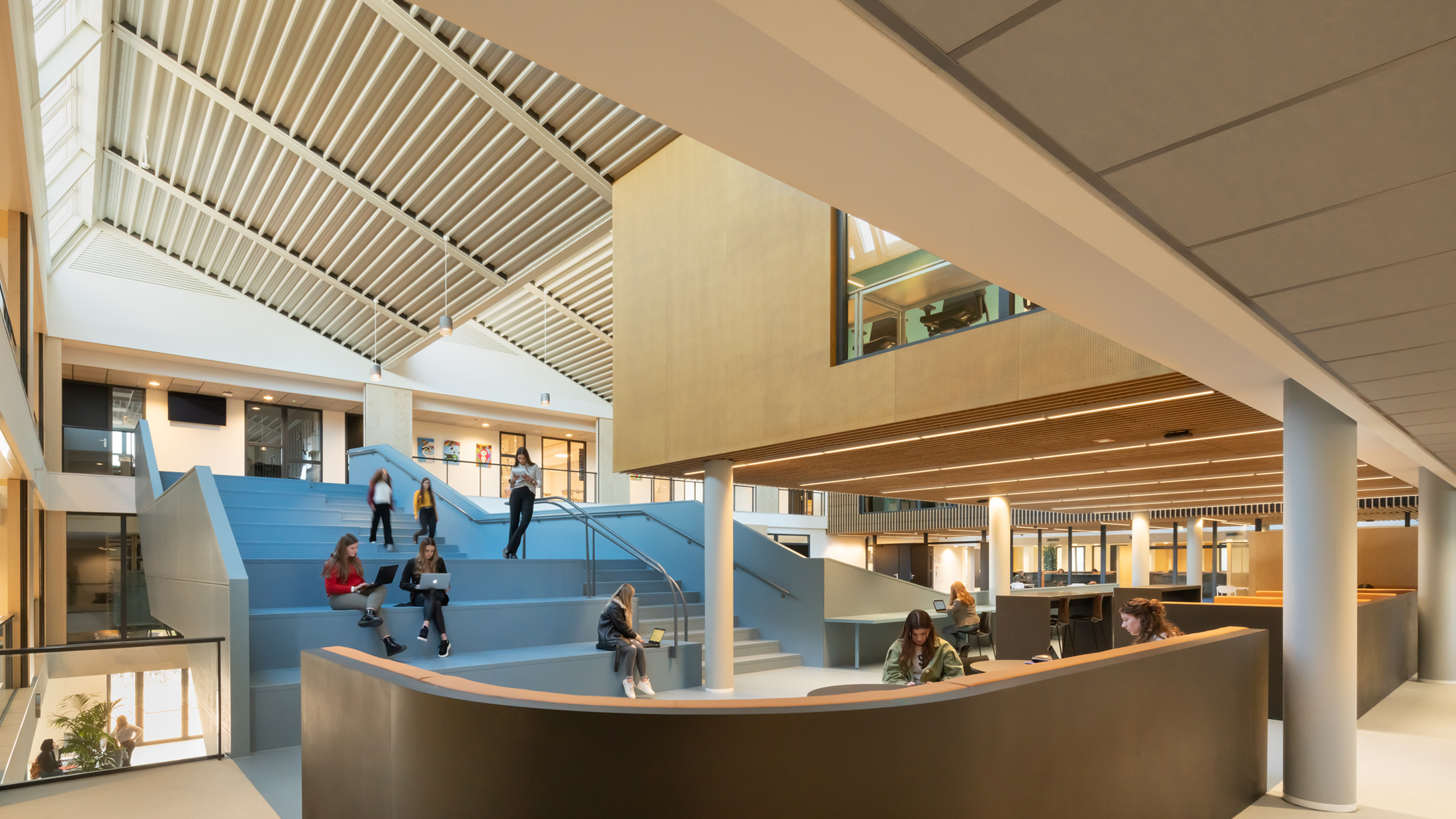 Christelijk Lyceum Veenendaal, designed by NOAHH | Network Oriented Architecture