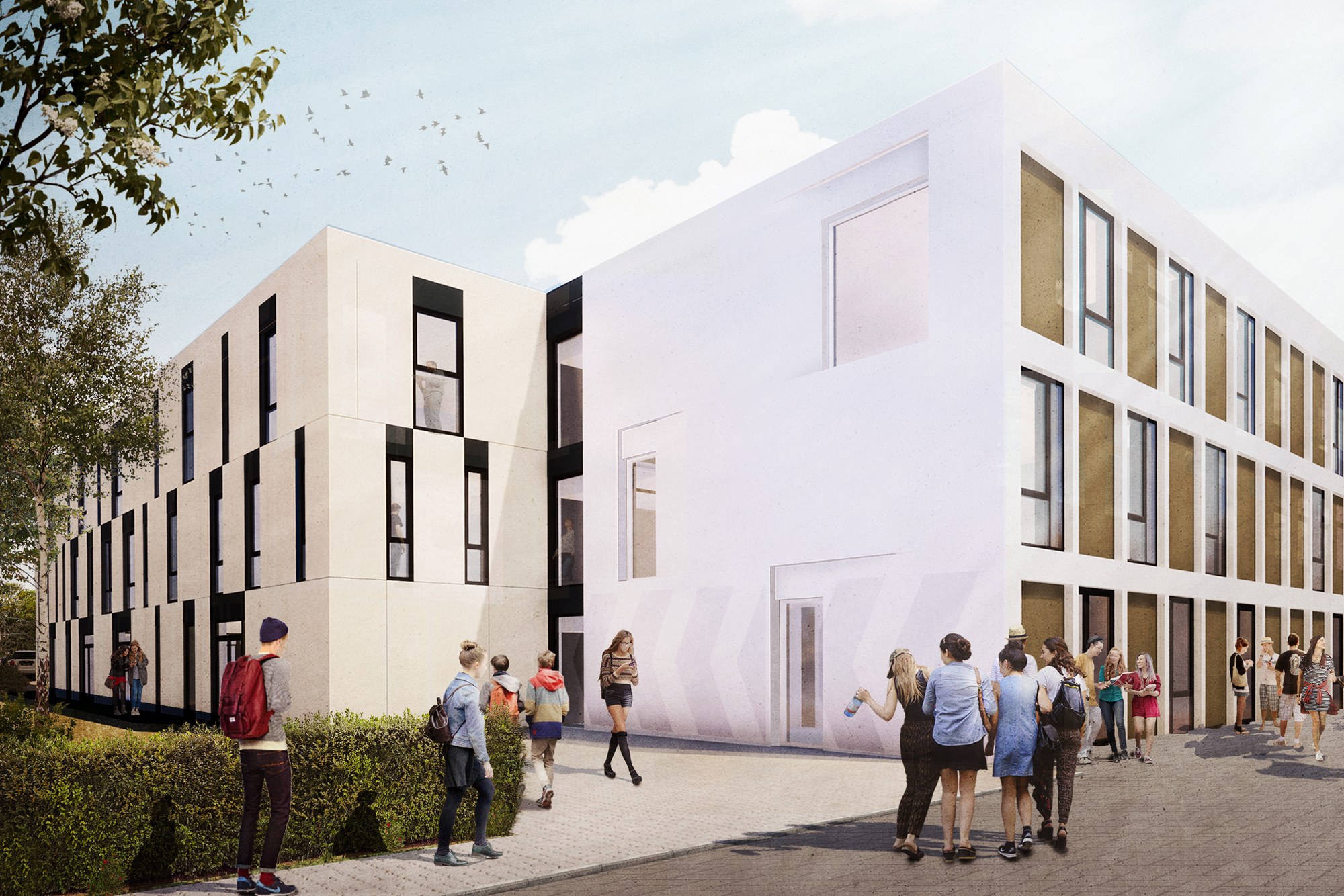 CLV Open Dag Architectuur 2020, ontworpen door NOAHH
