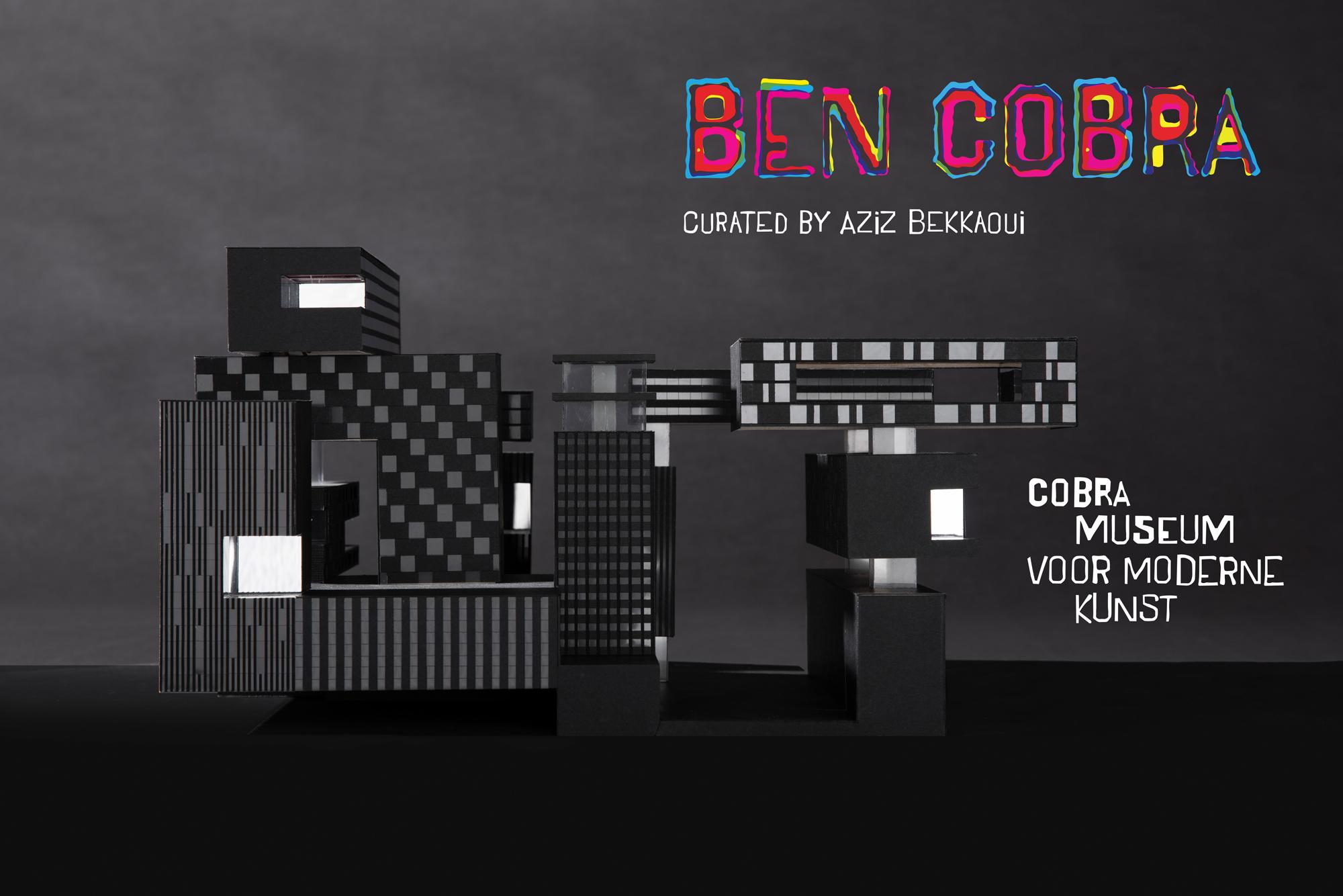 Patrick Fransen, director of NOAHH participates in Ben Cobra exhibition.