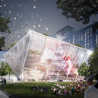 Shenzhen International Performing Arts Centre designed by NOAHH