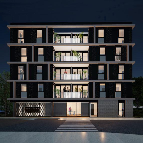 Social Housing De Meker by NOAHH | Network Oriented Architecture