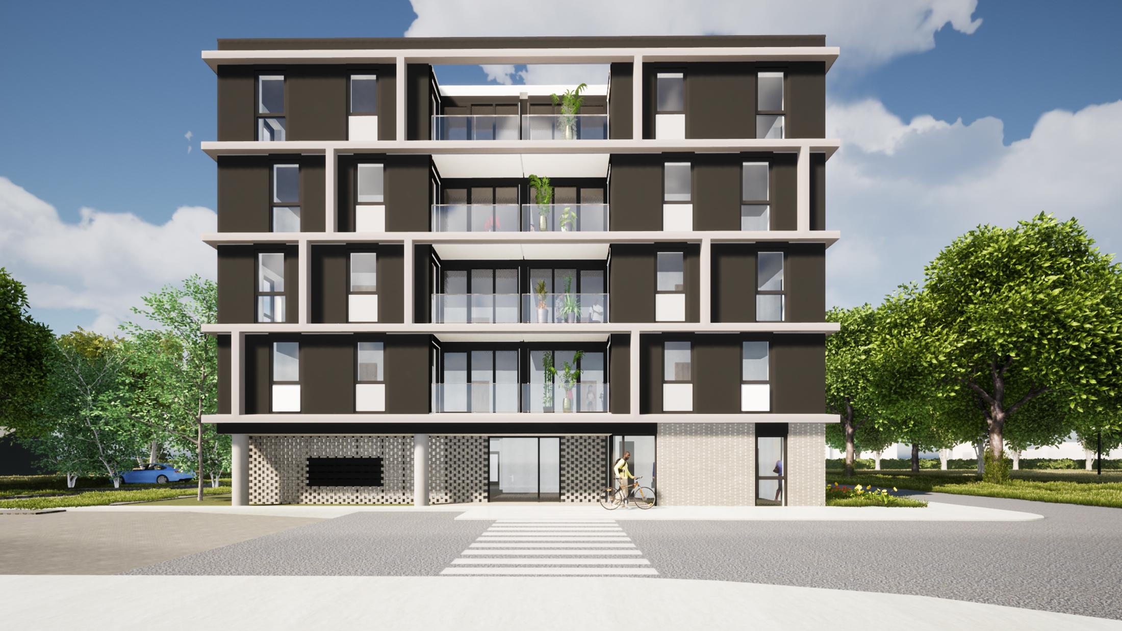 Social Housing De Meker by NOAHH   Network Oriented Architecture