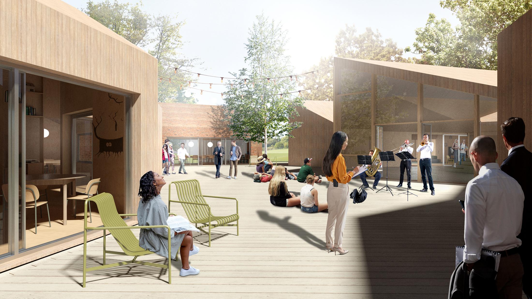CSR Reggesteyn school campus, designed by NOAHH | Network Oriented Architecture