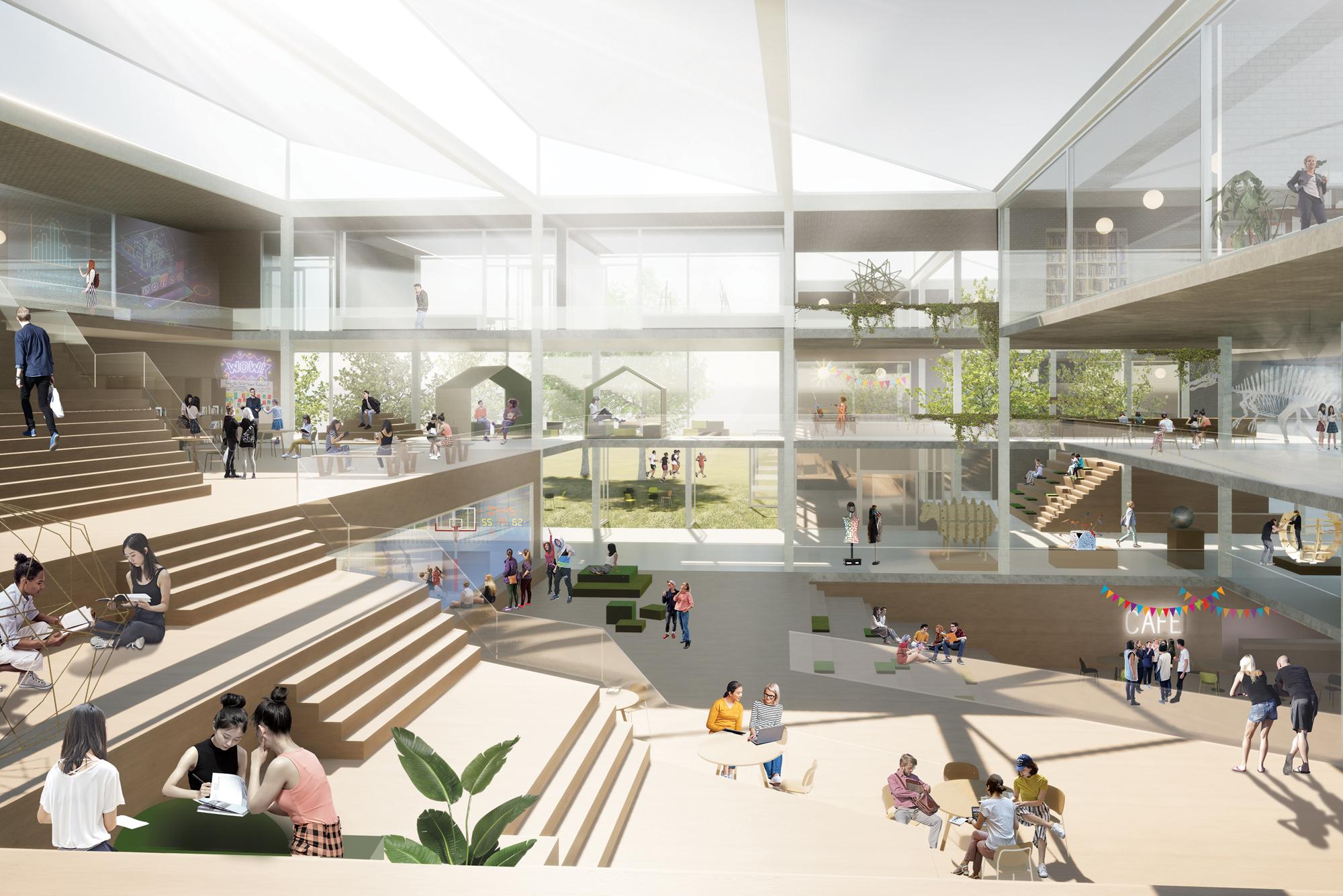 NOAHH designs nature-inclusive campus CSG Reggesteyn