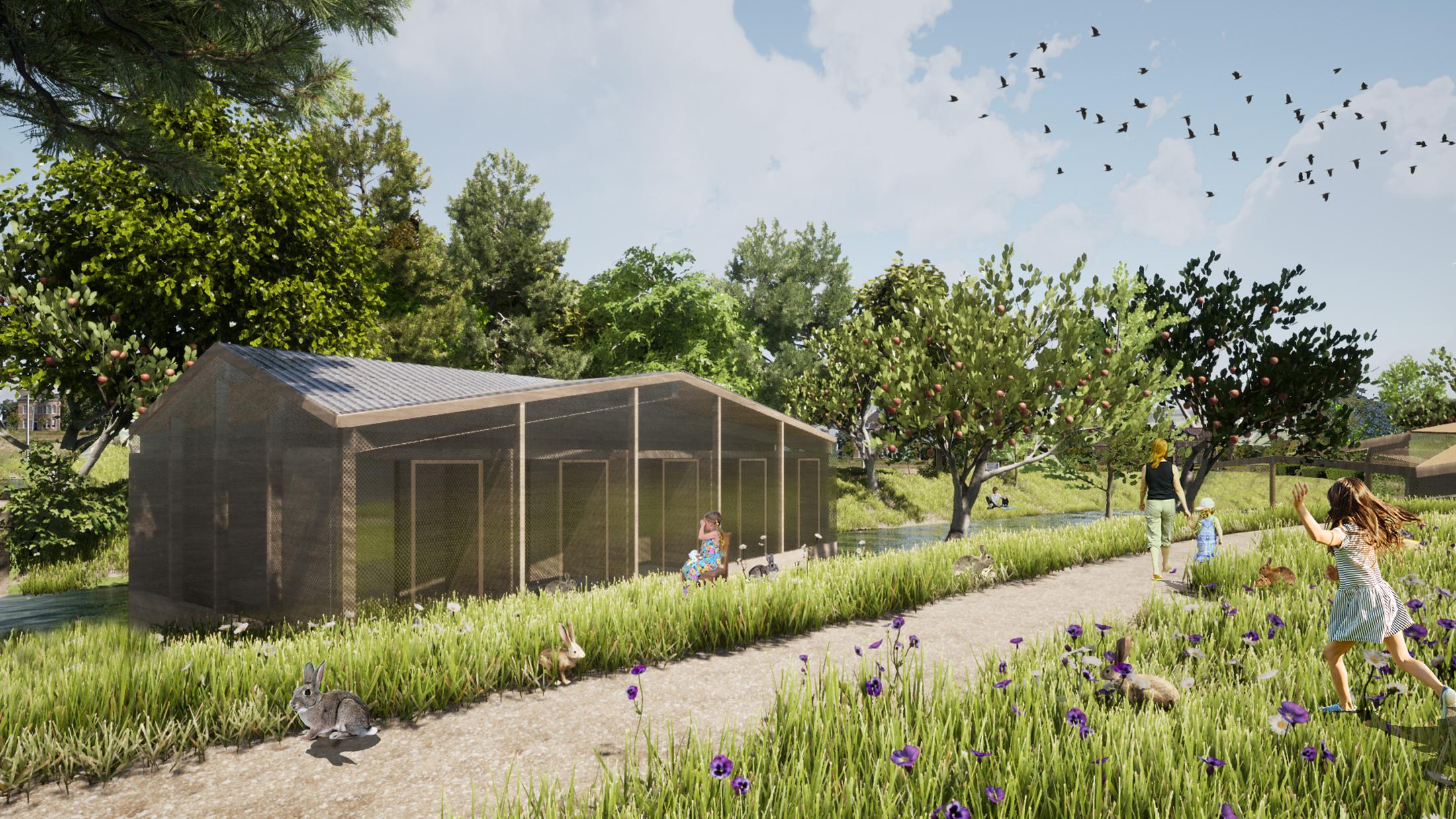 De Dierenhoeve, designed by NOAHH | Network Oriented Architecture