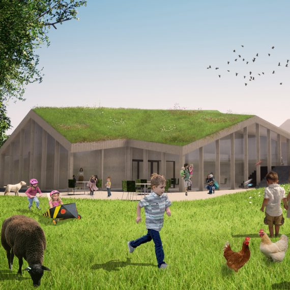 De Dierenhoeve, designed by NOAHH | Network Oriented Architecture