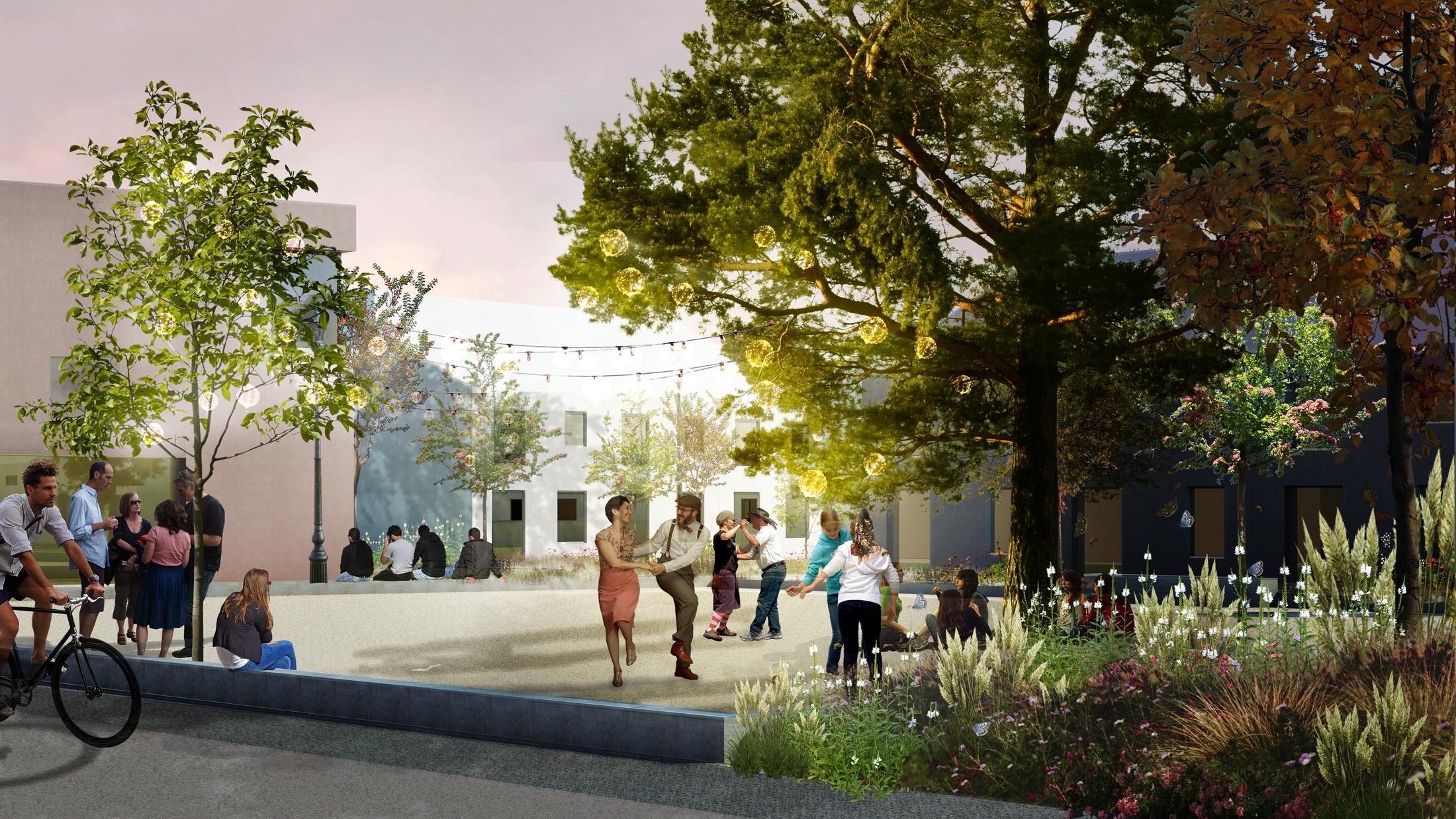 Debbautshoek Housing, designed by NOAHH   Network Oriented Architecture