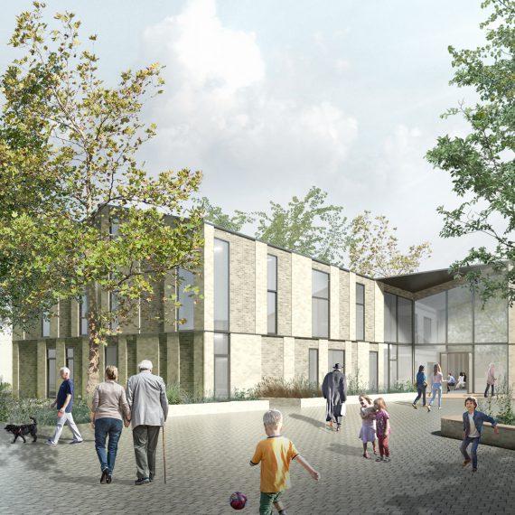 Dorpshart Zwartewaal, designed by NOAHH   Network Oriented Architecture