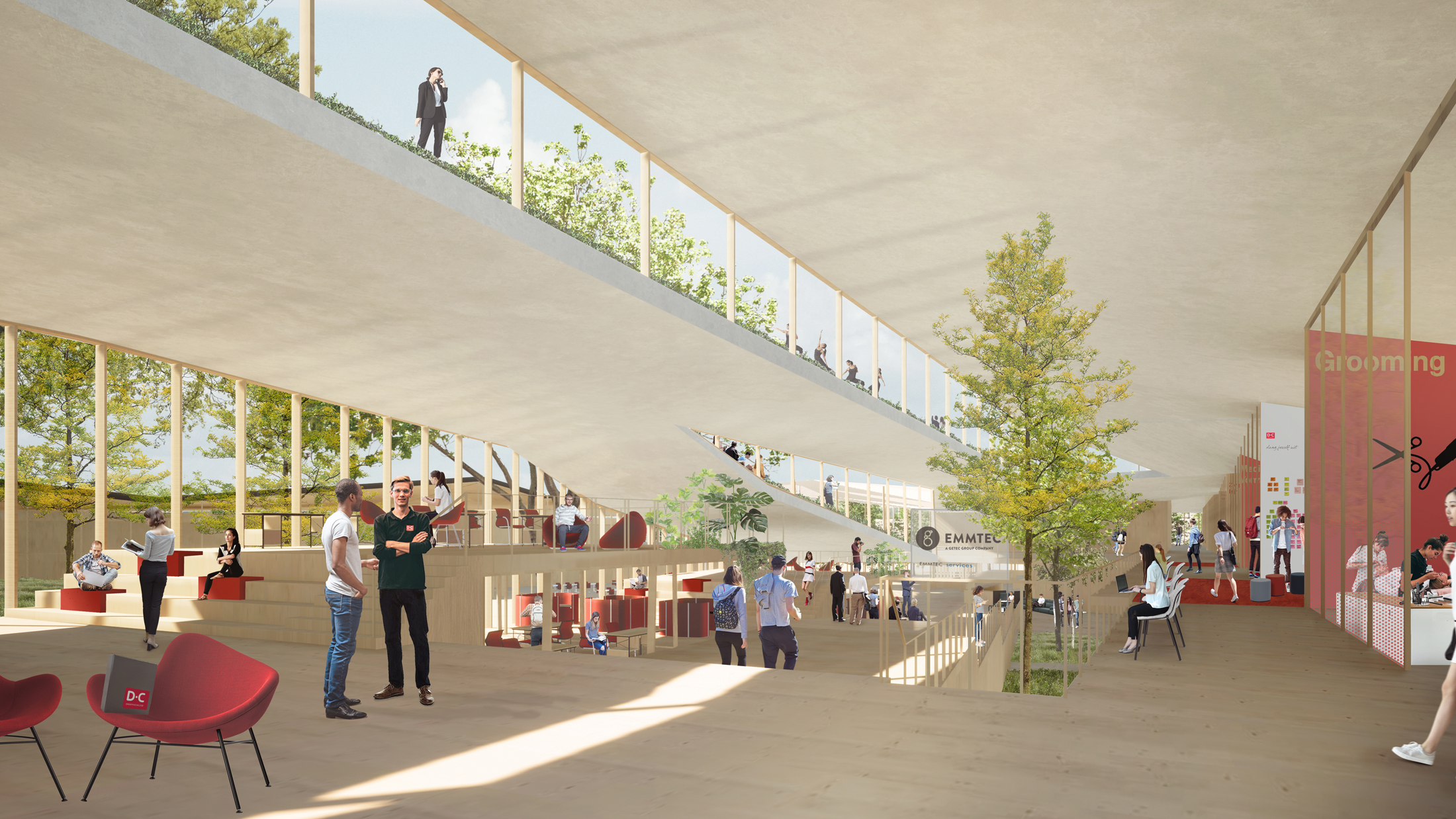 Drenthe College, feasibility study by NOAHH | Network Oriented Architecture