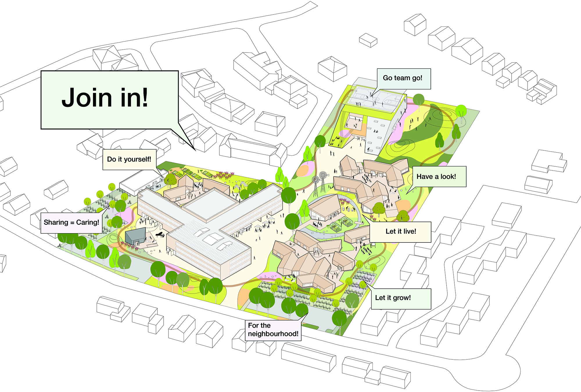CSG Reggesteyn, designed by NOAHH | Network Oriented Architecture