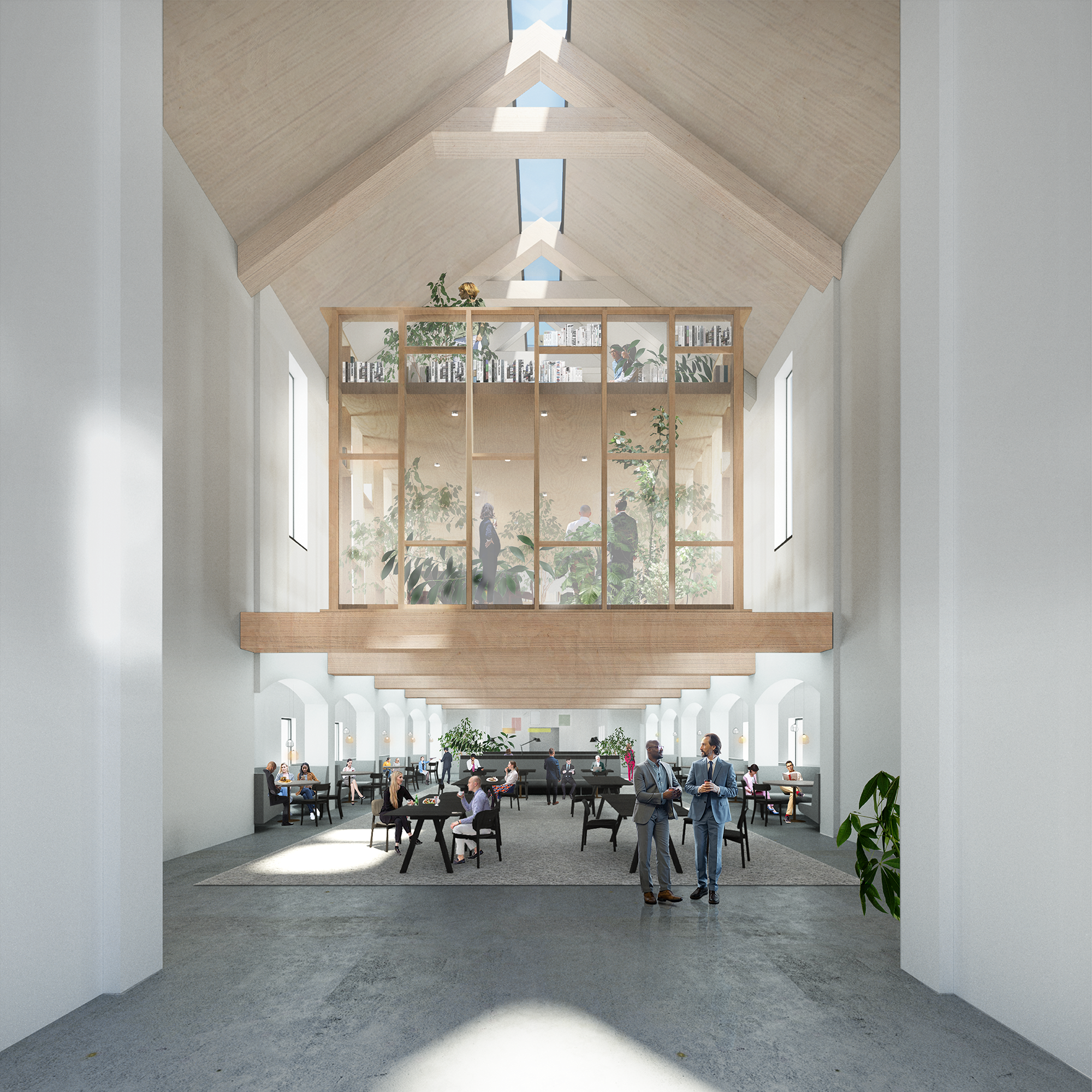 TRANSFORMATION PUBLIC PROSECUTOR'S OFFICE, designed by NOAHH | Network Oriented Architecture