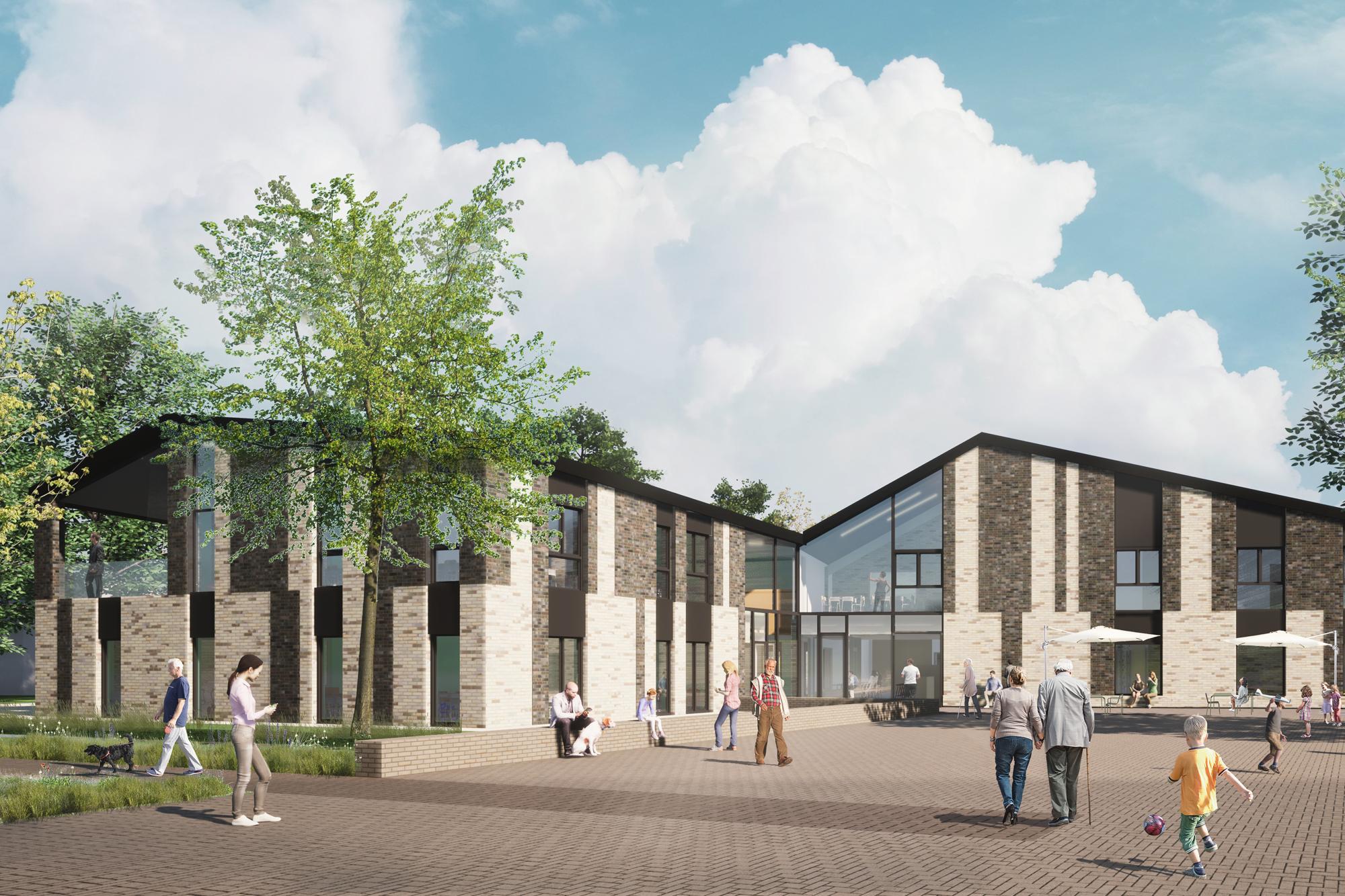Dorpshart Zwartewaal, designed by NOAHH | Network Oriented Architecture