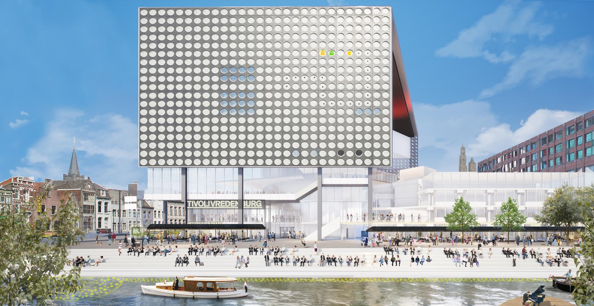 TivoliVredenburg, designed by NOAHH   Network Oriented Architecture